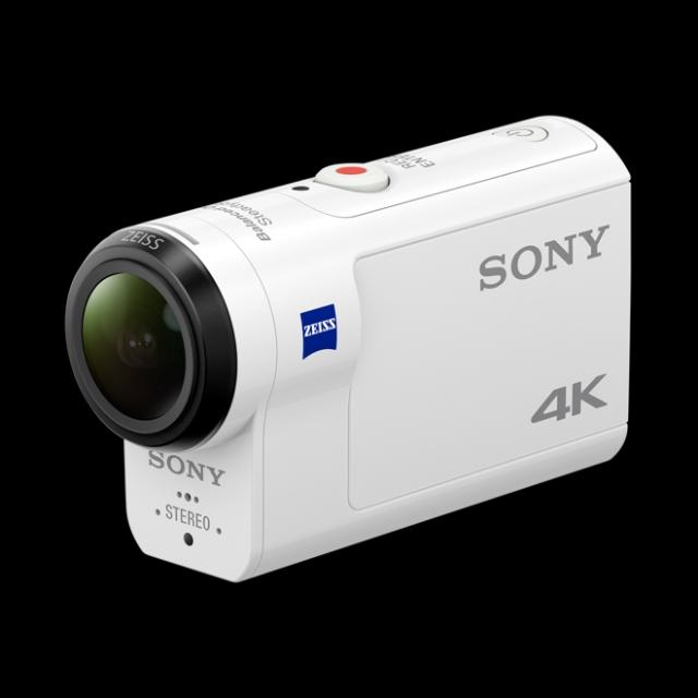 SONY FDR-X3000R Videokamera Action Cam 4K UHD, 12 MP, Image Stabilization, enabled wi fi, Bluethooth, GPS, NFC