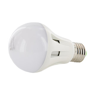 WE LED žárovka 11xSMD 6W E27 teplá bílá A60
