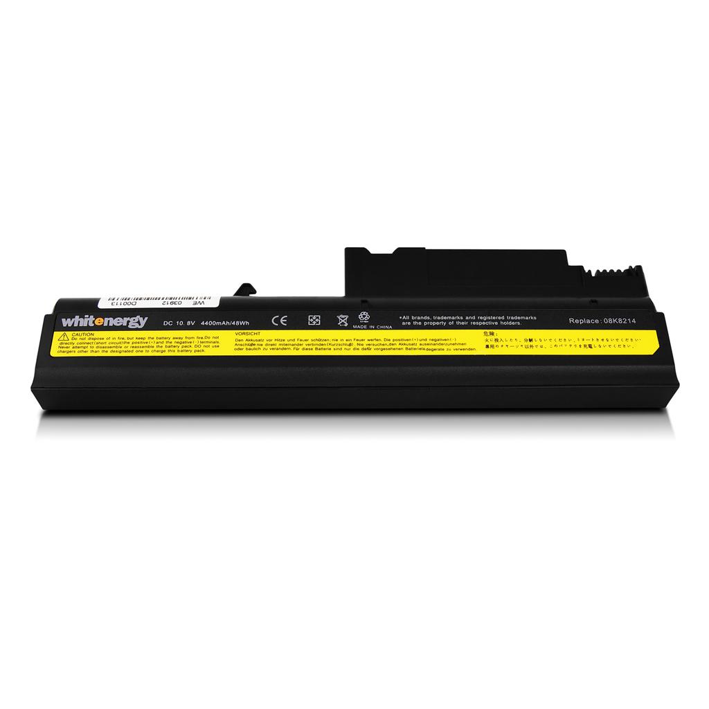 WE baterie pro Lenovo ThinkPad T40 10,8V 4400mAh