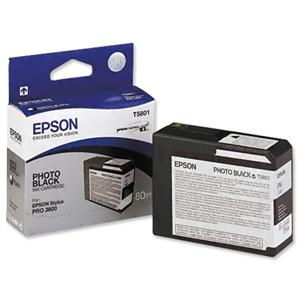 Epson T580 Matt Black (80 ml)
