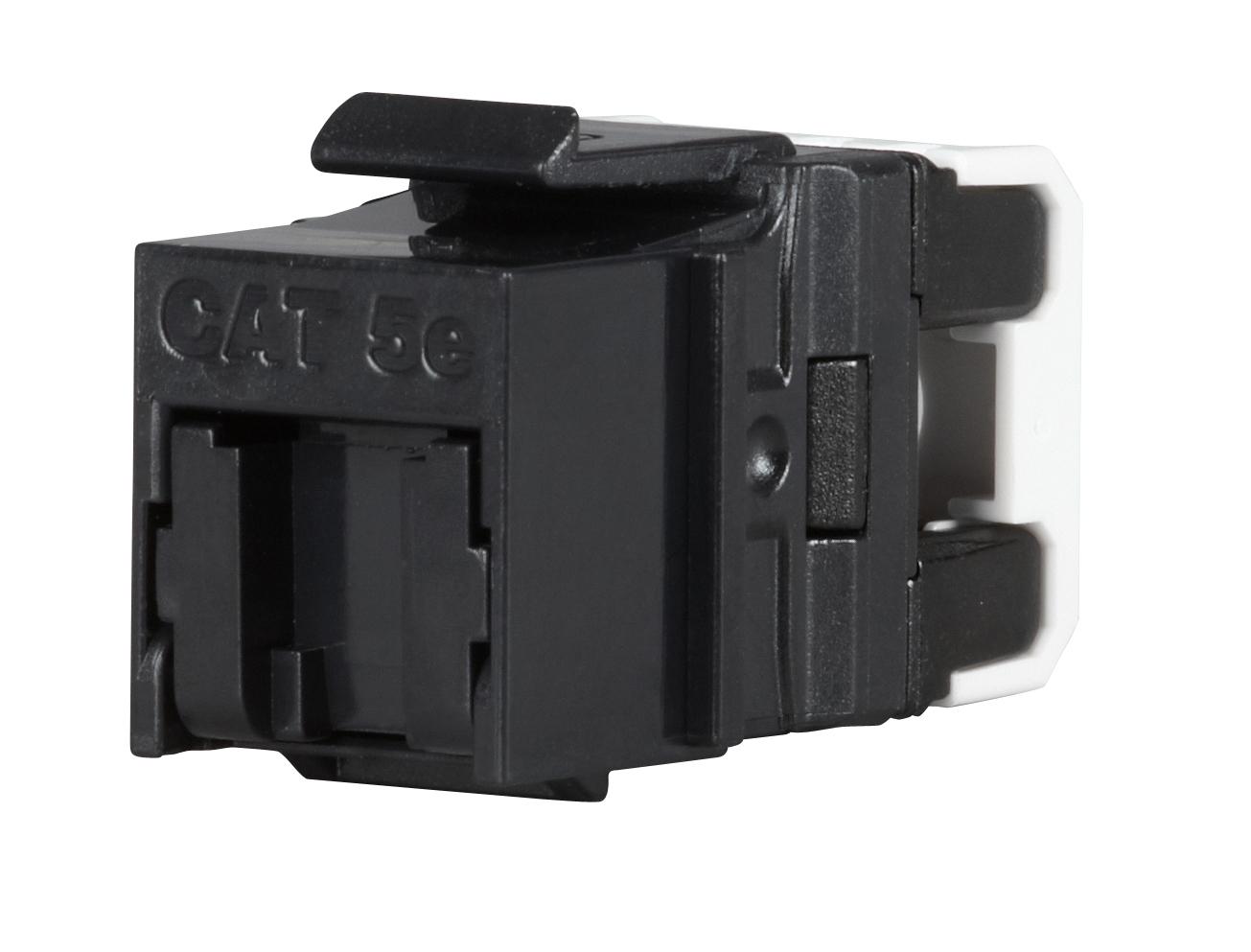 Keystone Solarix CAT5E UTP RJ45 černý