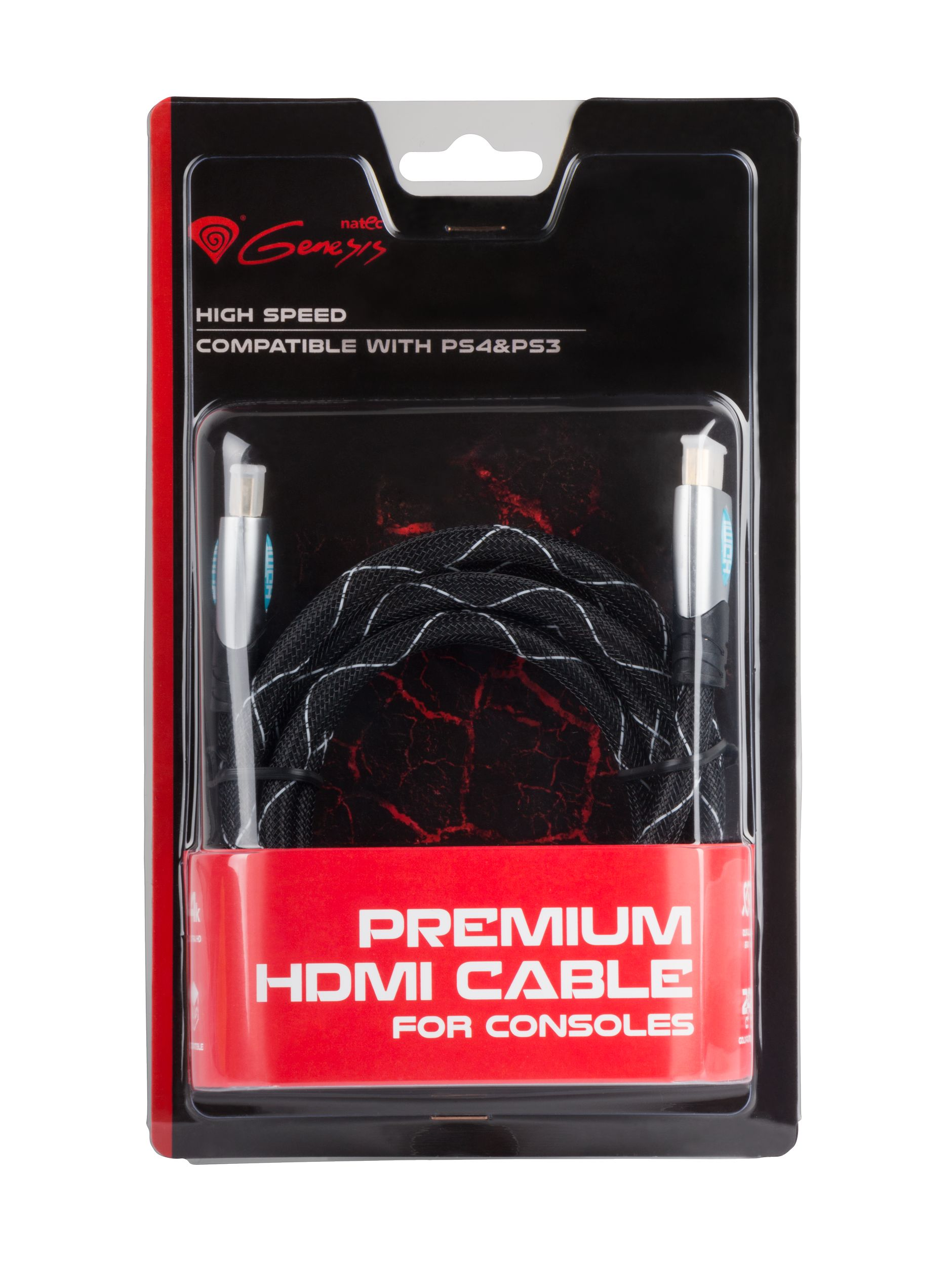 Genesis cable HDMI - HDMI v1.4 High Speed PS3/PS4 1.8M Premium