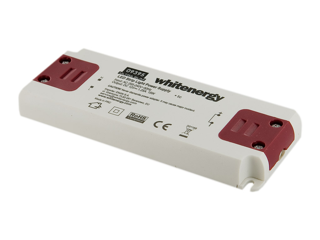 WE Zdroj LED ULTRA SLIM 230V 15W 12V