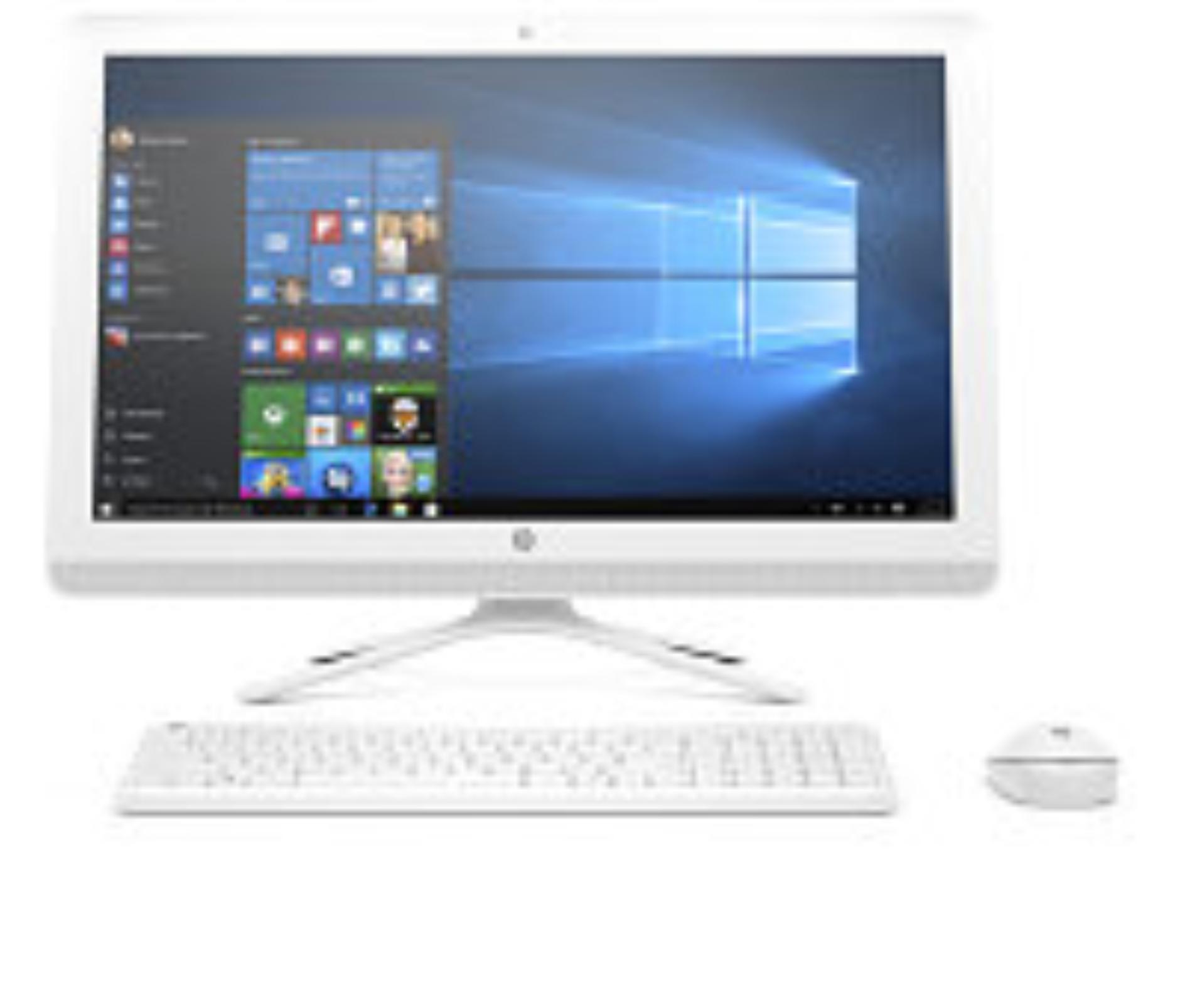"""HP PC AiO All-in-One 24-g000nc 23,8"""" FHD IPS AG LED,Inte i3-6100U,4GB DDR4,1TB/7200,DVDRW,WiFi,USBkey+mou,UMA,Win10"""