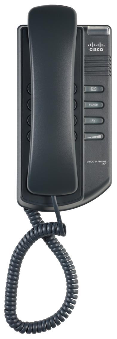 Cisco 1 Line IP tel., SPA301-G2