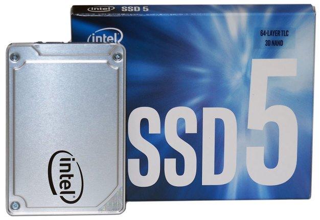 Intel® SSD 545s Series (256GB, 2.5in SATA 6Gb/s, 3D2, TLC) Retail Box Single Pack