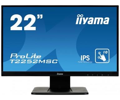 Monitor Iiyama T2252MSC-B1 22inch VGA + DVI-D + USB