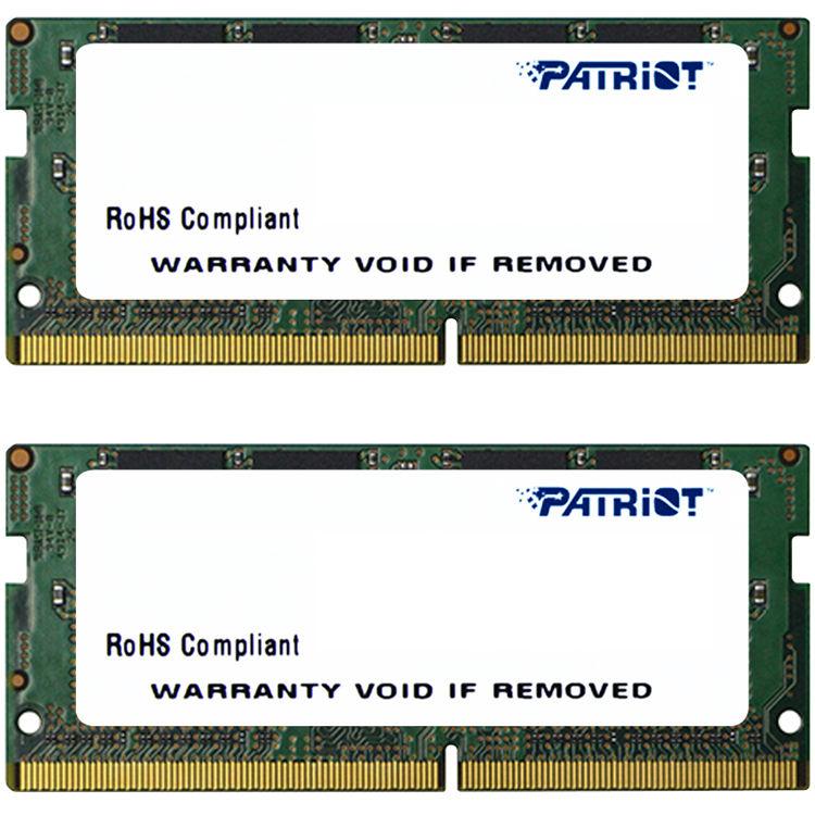 SO-DIMM 8GB DDR4-2133MHz Patriot CL15, 2x4GB