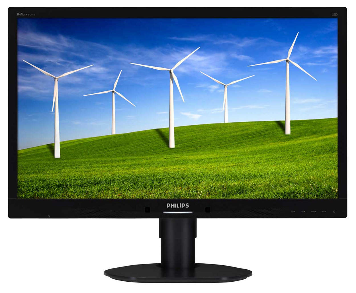 "Philips LCD 241B4LPYCB 24""wide/1920x1080/5ms/20mil:1/DP/USB/LED/PowerSensor/pivot/repro, černý"
