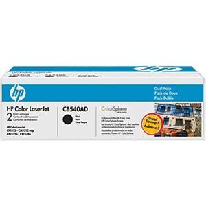 HP CB540AD Toner 125A pro CLJ CP1215, 1515, (2x2200str), Black
