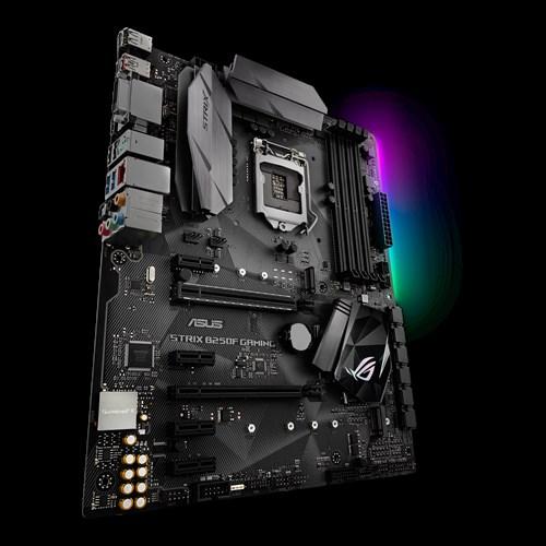 ASUS STRIX B250F GAMING, 1151, B250, 4xDDR4, PCIe 3.0x16, SATAIII, USB3.1, M.2, DP/HDMI/DVI-D, ATX