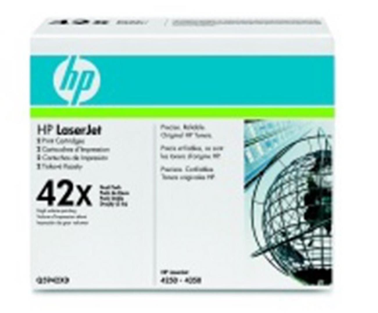 HP Q5942XD Toner 42X pro LJ 4250/4350, (2x20 000str), Black