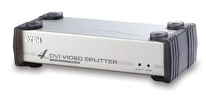 ATEN Video Spliter DVI + Audio 4 port