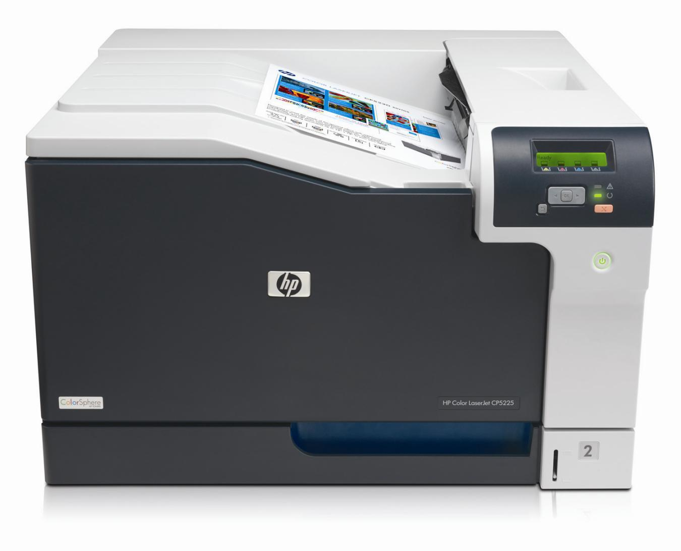 HP Color LaserJet Professional CP5225n (A3, 20/20 ppm A4, USB 2.0, Ethernet)