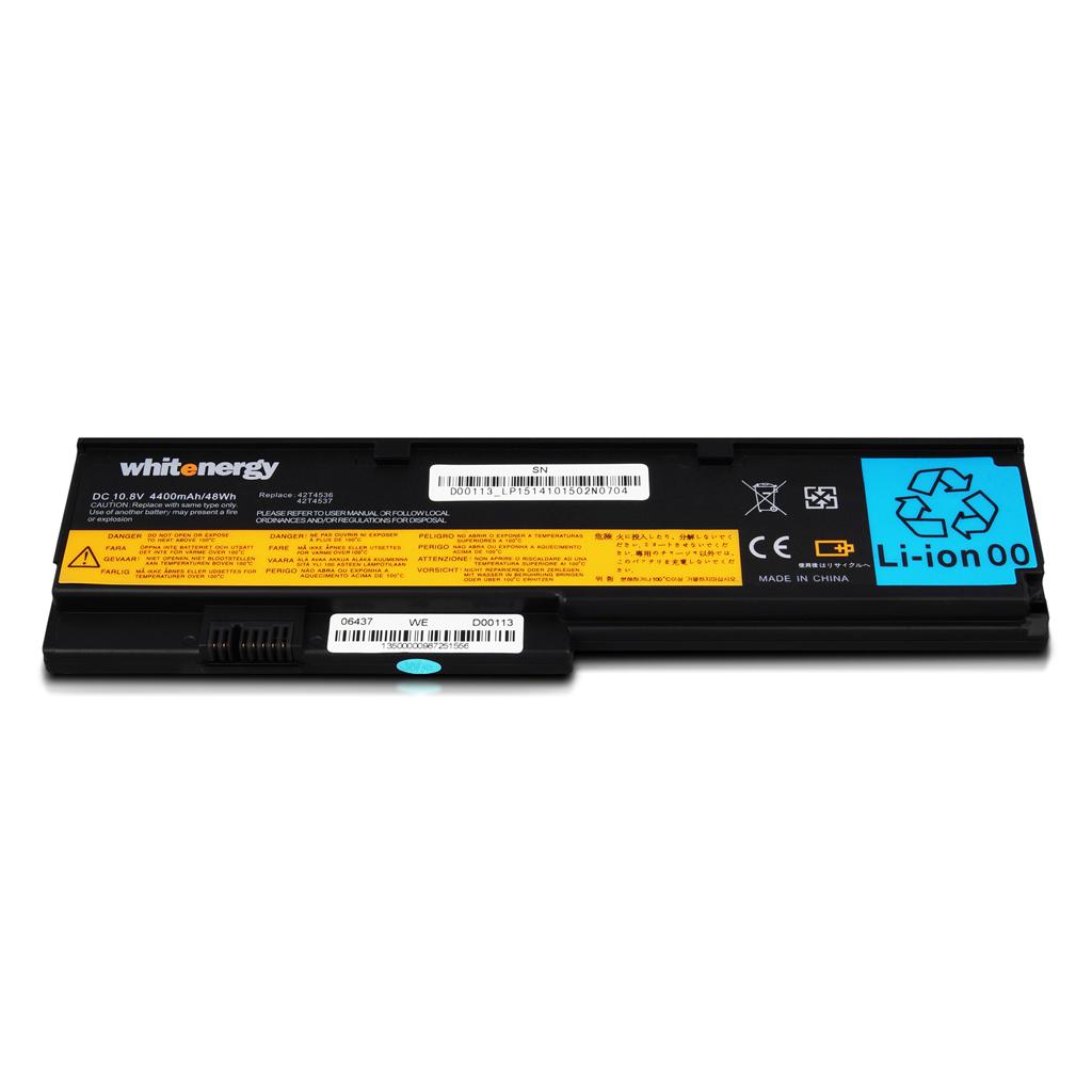 Whitenergy baterie pro Lenovo ThinkPad X200 10.8V Li-Ion 4400mAh