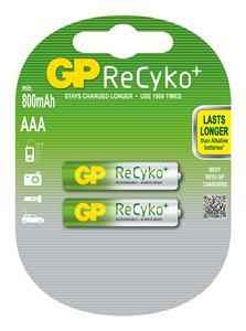 GP AAA 800 Recyko+ Ni-MH - 2 ks