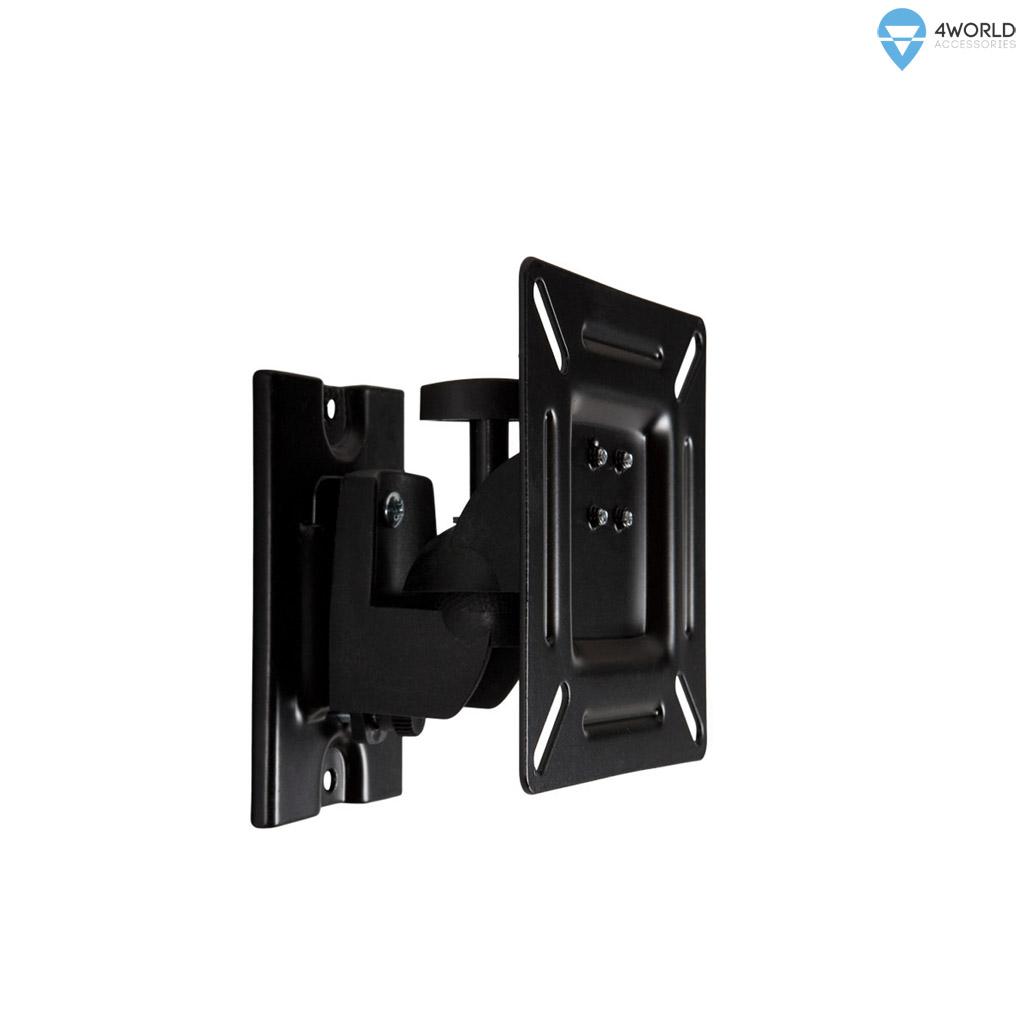 """4W Držák LCD 15-32"""" jednoramenný otočný sklopný BL"""