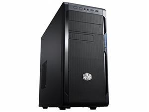 CoolerMaster case miditower series N300, ATX,black, USB3.0, bez zdroje
