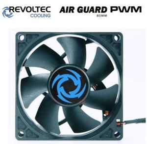 Revoltec ventilátor ''AirGuard PWM'', 80x80x25mm