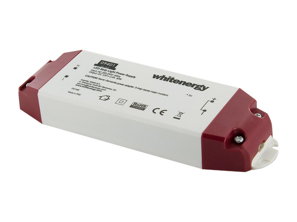WE Zdroj LED SLIM 230V 30W 12V