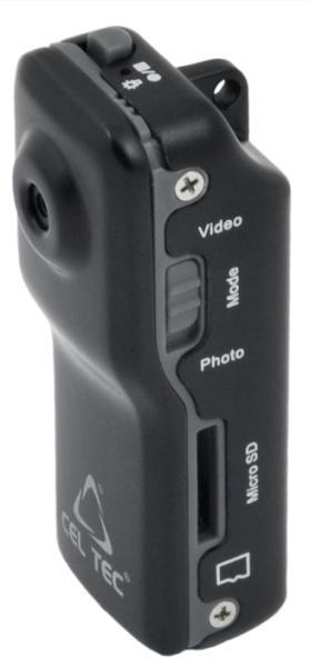 CEL-TEC DCR-12 HD - minikamera na microSD/SDHC karty