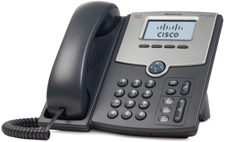Cisco 1 Line IP tel., Display,PoE,Gig Port,SPA512G