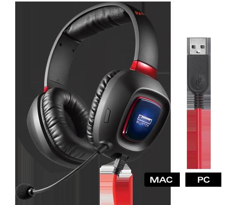 Creative sluchátka Tactic 3D Rage USB V2
