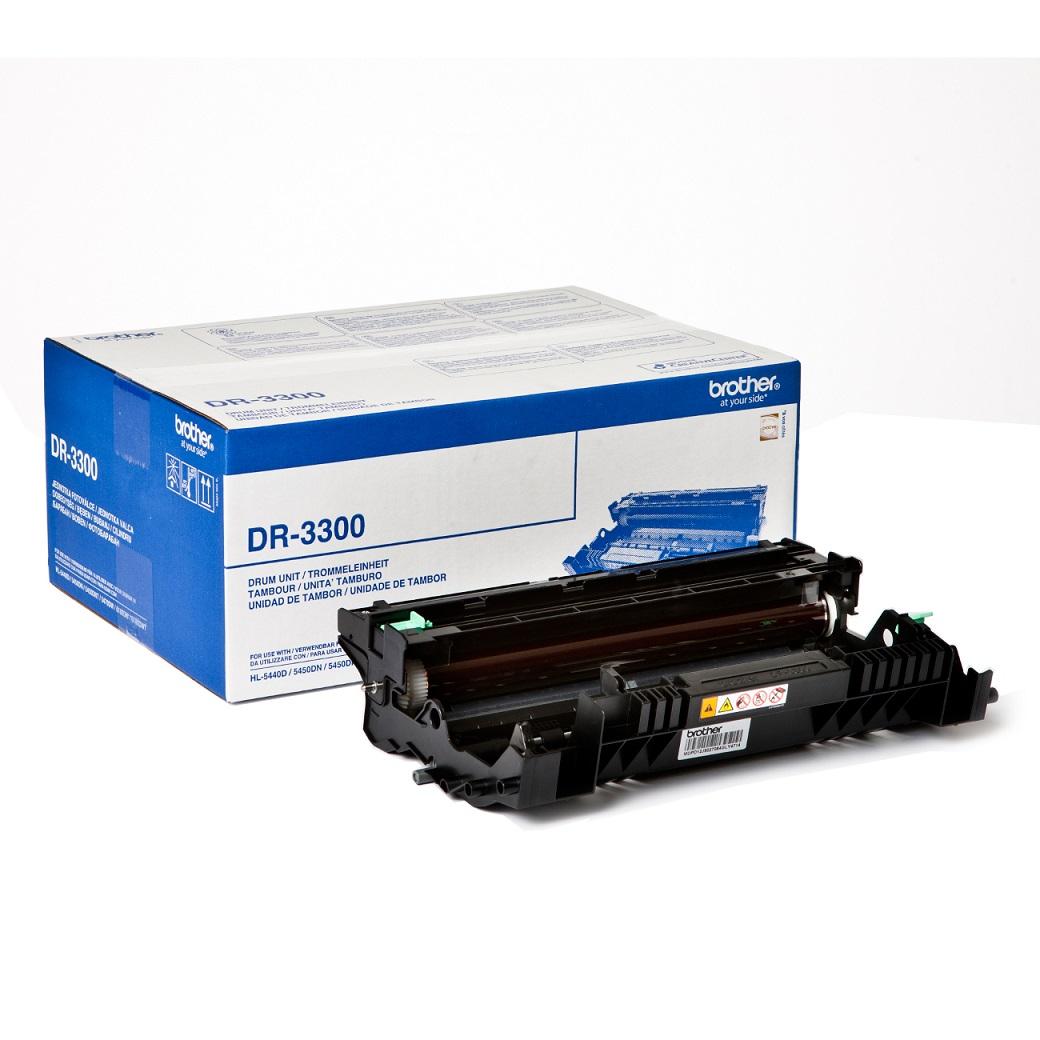 Brother-DR-3300 opt. válec (HL-54xx,HL-6180,DCP8110,8250,MFC8510,8520,8950 do 30 000 str.)