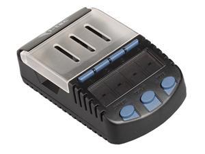 i-Tec Battery Station - nabíječka a tester baterií AA/AAA, USB, LCD displej