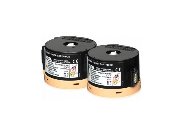EPSON toner S050711 M200/MX200 (2x 2500 pages) double black return