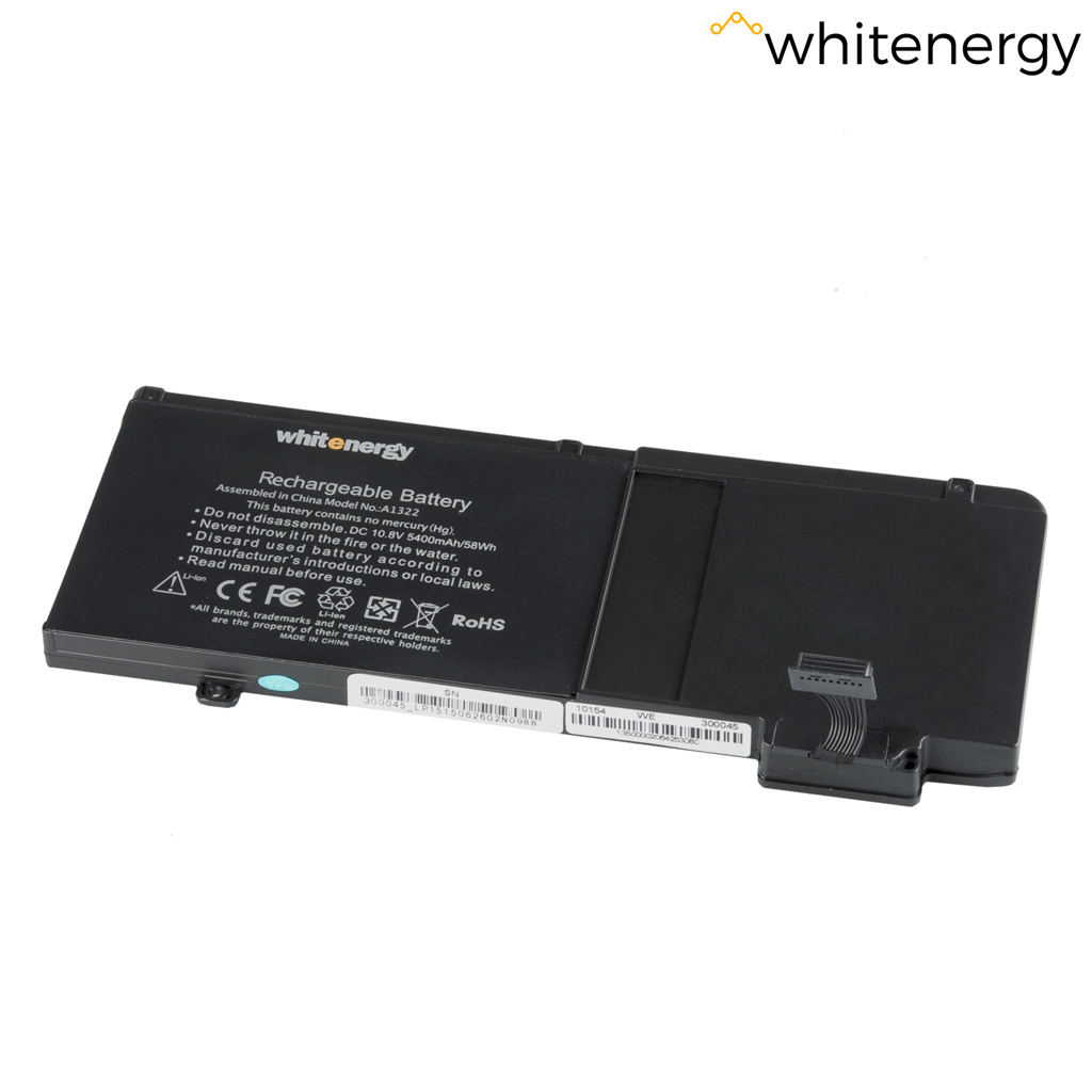"WE baterie Apple MB Pro 13"" A1322 10.8V 5400mAh"