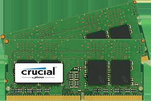 Crucial paměť 2x16Gb, 2400MHz DDR4, CL17, DRx8, SODIMM, 260pin