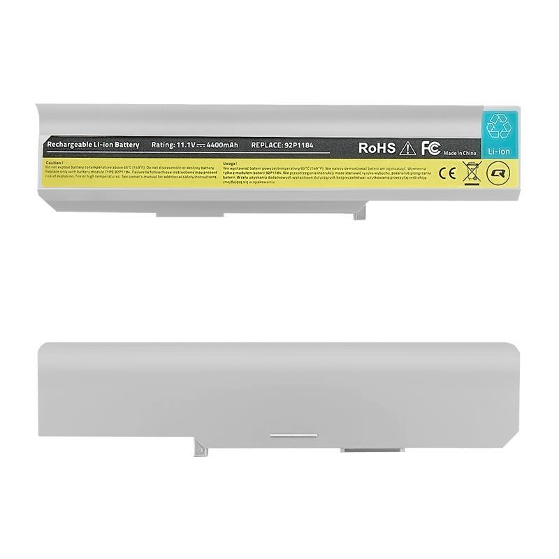 Qoltec Long Life baterie pro notebooky - Lenovo IBM 3000   4400mAh   11.1V