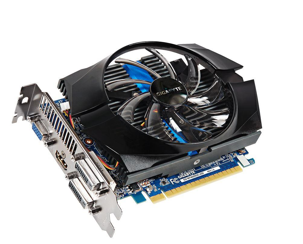 Gigabyte GeForce GT 740 OC, 2GB GDDR5 (128 Bit), HDMI, DVI, D-Sub