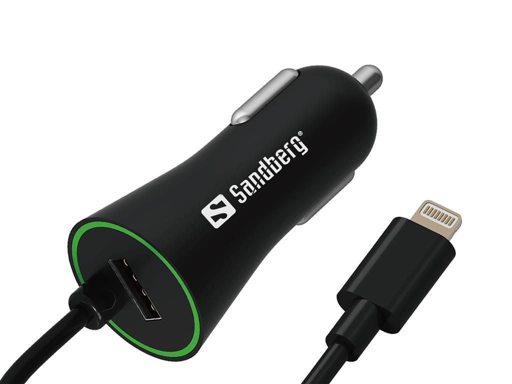 Sandberg Car Charger Lightning + USB 3.4A nabíječka do auta