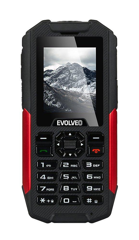 EVOLVEO StrongPhone X3, vodotěsný odolný Dual SIM telefon, fce. powerbank, svítilna