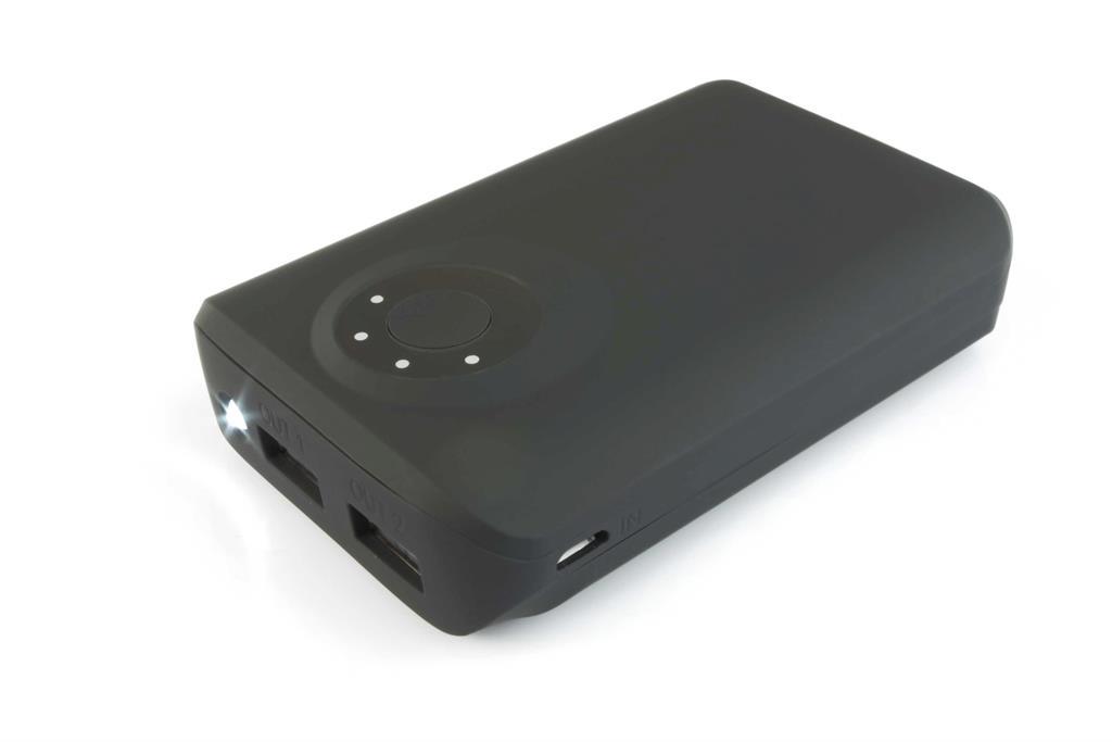 PowerNeed Sunen Přenosná nabíječka 8400mAh, 2x USB; tablet, smartphone; černá
