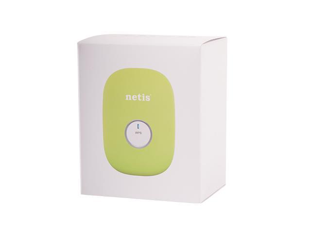 Netis WIFI Repeater / Extender 300Mbps, RJ45, green