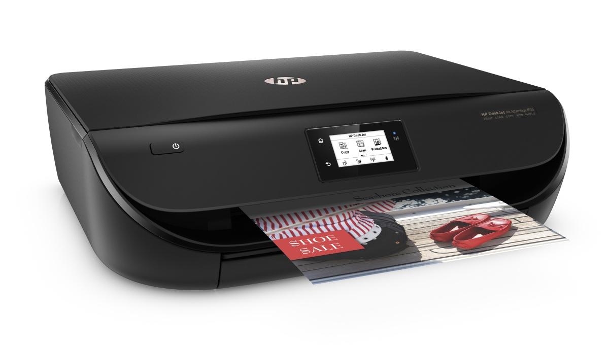 HP All-in-One Deskjet Ink Advantage 4535 (A4, 9,5/6,8 ppm, USB, Wi-Fi, Print, Scan, Copy, duplex)