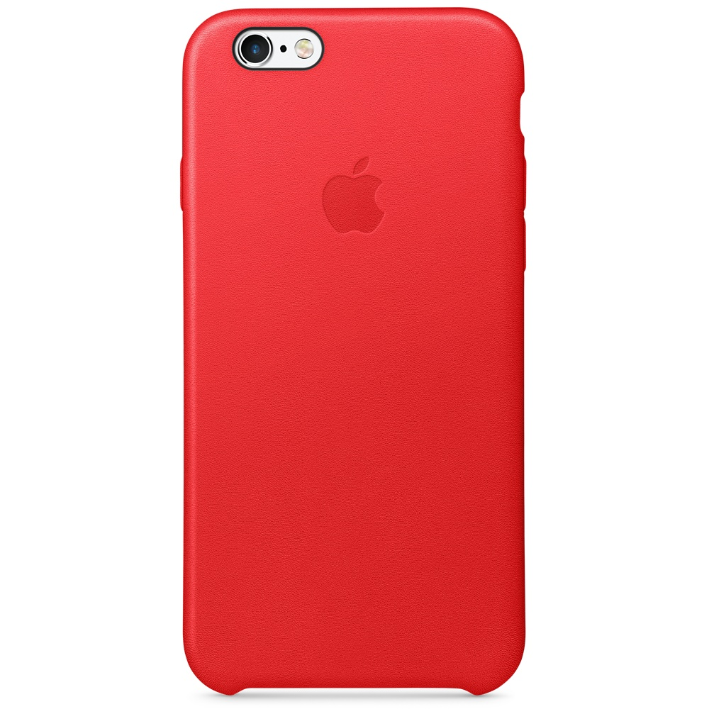 iPhone 6S Leather Case (PRODUCT) RED
