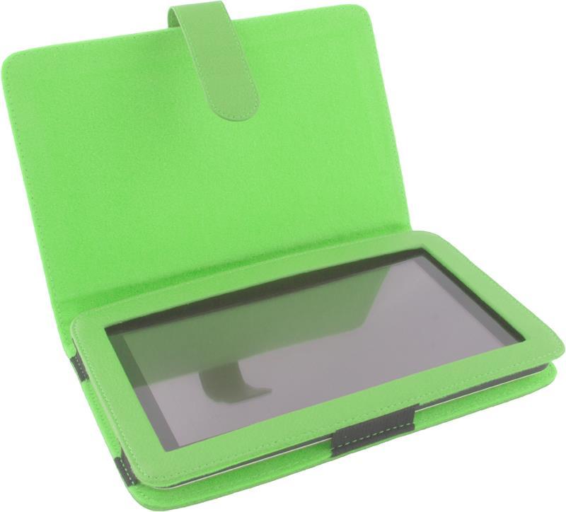 Esperanza ET181G Pouzdro pro tablet 7'', eko kůže, zelené