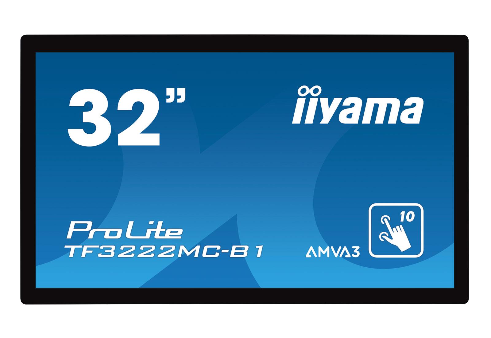 "32"" LCD iiyama TF3222MC-B1 - open frame"