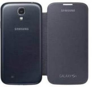 Samsung flipové pouzdro EF-FI950BB pro Galaxy S4 (i9505), černá