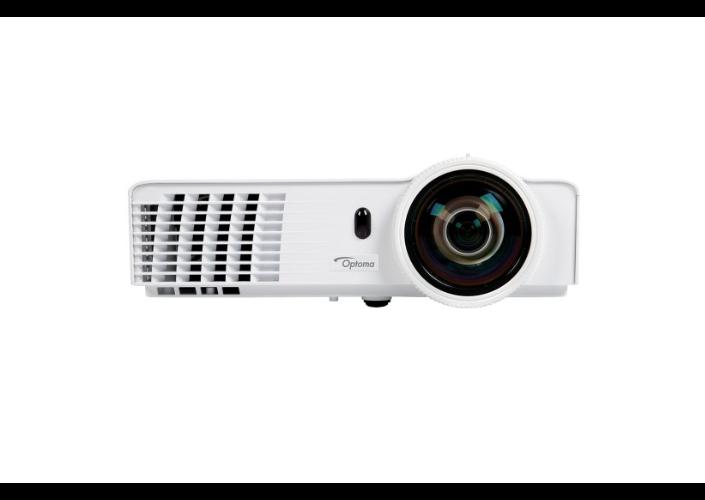 Optoma projektor W303ST (FULL 3D, WXGA, 3 000ANSI, 18 000:1, HDMI, 2x VGA)