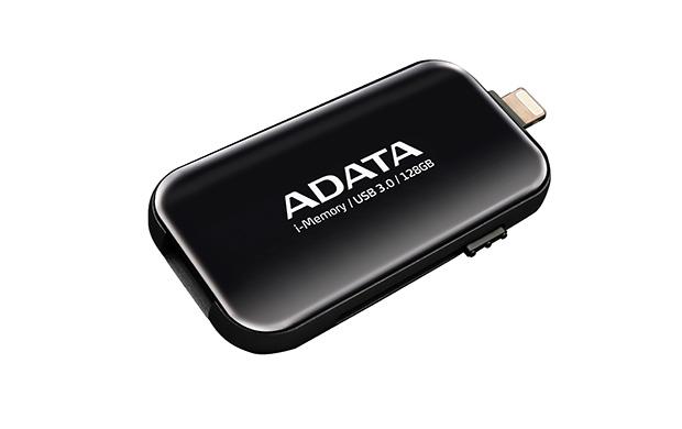 128GB ADATA UE710 USB 3.0 i-memory Apple černá