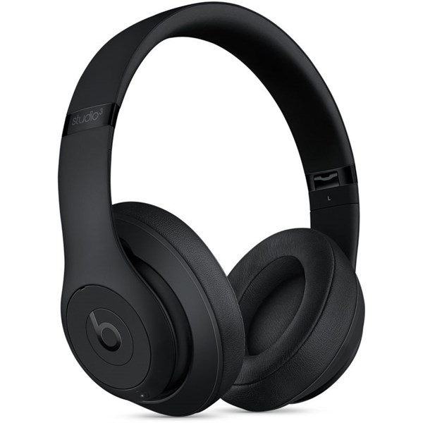 Apple Beats Studio 3 Wireless On-Ear Headphones - Matte Black