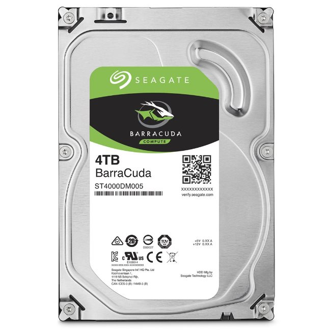 Seagate Barracuda 5400 4TB 3.5'' HDD, SATA3, 5400RPM, 256MB cache