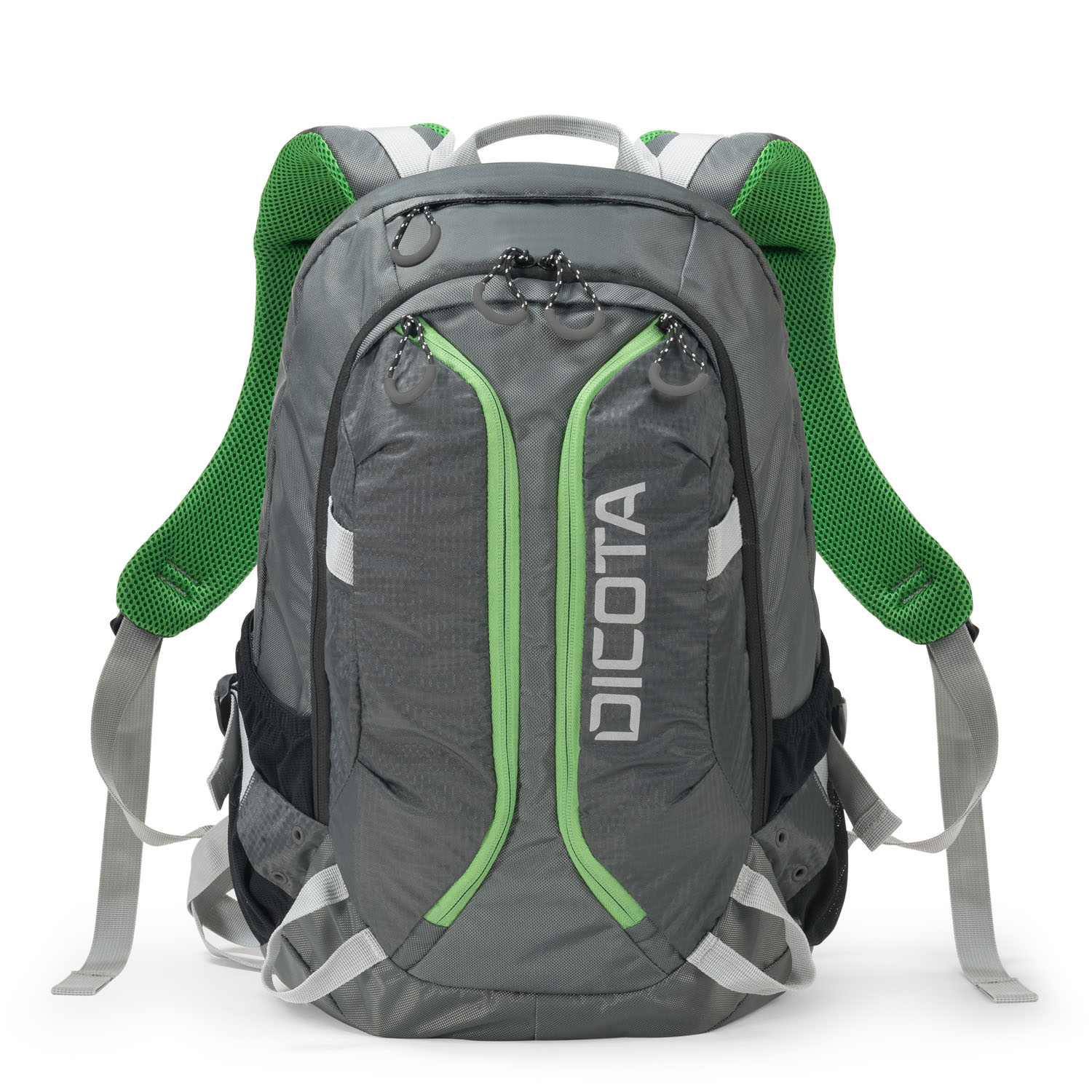 Dicota Backpack Active 14-15.6 grey/lime