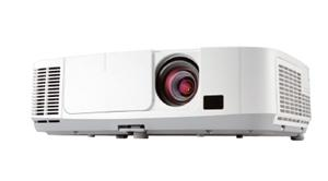 NEC LCD proj. P451W-4500lm,WXGA,HDMI,USB,LAN,lens