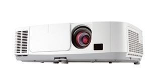 Projektor NEC P501X; LCD; XGA (1024x768); 5000 ANSI; 4000:1; HDMI, RJ45